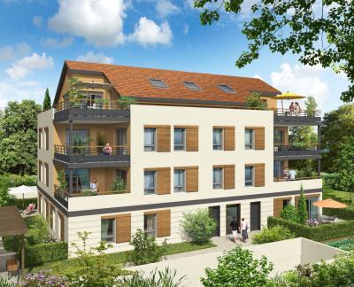 Appartement T2 avec jardin sur Genas 69740