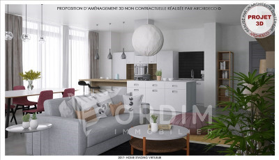 APPARTEMENT NEUF AUXERRE - 4 pièce(s) - 109 m2