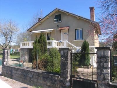Maison de bourg et jardin