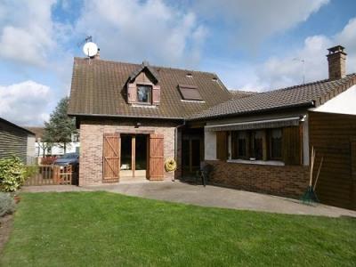 Maison cheminée 3 chambres bureau garage sur 1518m² de terrain