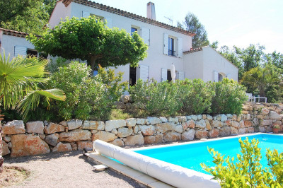 Provencal Bastide with view