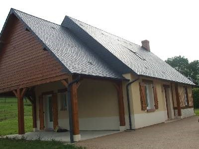 Location maison / villa Entre pont l'eveque et lisieux 950€ CC - Photo 2