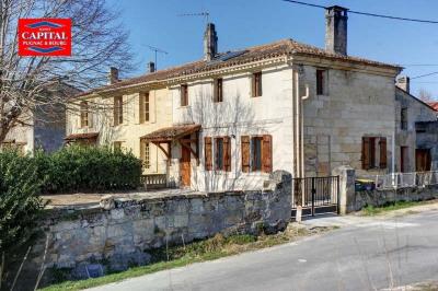 Maison en pierre 6 pièces Pugnac