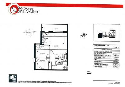 Appartement 3 pièces NEUF - COLOMIERS Bascule Oratoire