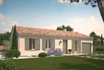 Maison  4 pièces + Terrain 890 m² Saint-Paul-Lès-Romans par MAISONS PHENIX St MARCEL LES VALENCE