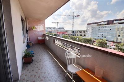 STRASBOURG Meinau F3 de 75 m² + Terrasse 15 m² + C