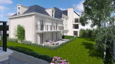 4 pièces - 36m² de séjour ouvert sur un grand balcon