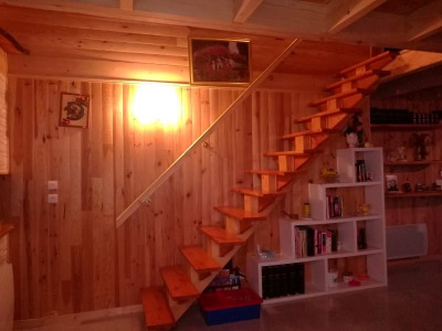 Maison type chalet + gîte indépendent 185m²