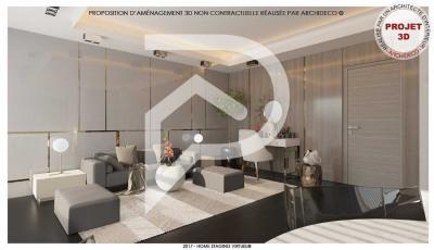 Appartement Saint Leu La Forêt 1 pièce (s) 36 m²