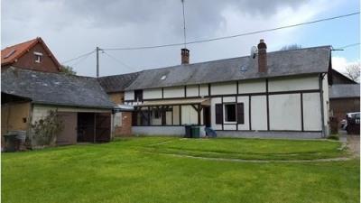 Maison de plain pied située proche d'Aumale