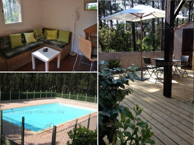 Vermietung von ferienwohnung haus Lacanau-ocean 568€ - Fotografie 1