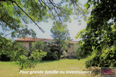Gragnague rare - ferme à rénover 960 euros /m² - 3200 m² de ter