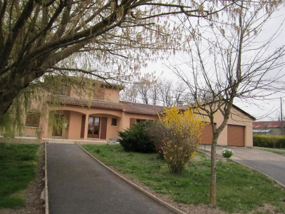 Maison sur terrain 1 ha 50