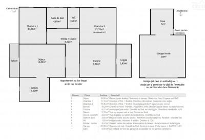 Vente - Appartement 4 pièces - 76 m2 - Nantes - Photo