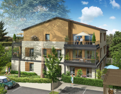 Appartement type 4 de 101m² avec terrasse à Genas 69740