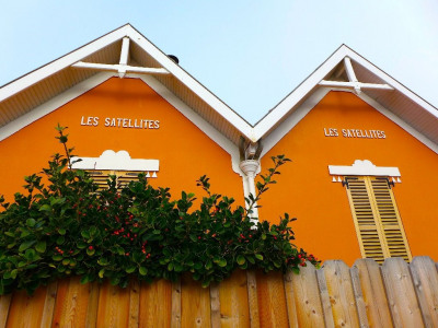 Les beach houses de lacanau