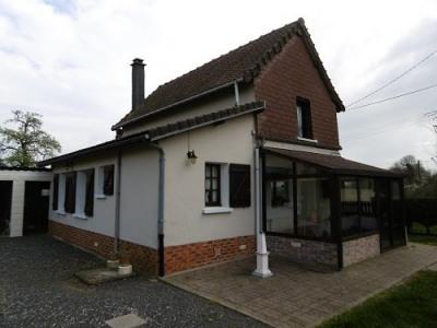 Maison 3 chamvres véranda atelier garage sur environ 1262 m² de