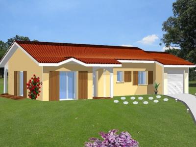 Maison plain pied 92m² habitables et 39m² de garage