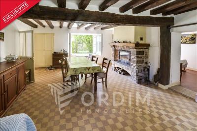 Maison ancienne st fargeau - 3 pièce (s) - 60.82 m²