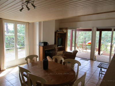 Vacation rental house / villa Lacanau ocean 455€ - Picture 2