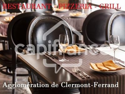 Fonds de commerce Café - Hôtel - Restaurant Clermont-Ferrand