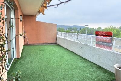 Duplex en dernier etage Mouans Sartoux