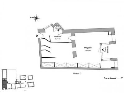 CENTRE VILLE Locaux commerciaux 67.29 m²