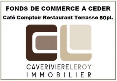 Lyon 1er - Café Bar Restaurant Terrasse 50 places
