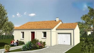Maison  3 pièces + Terrain 695 m² Longeville-sur-Mer par LOGIS DE VENDEE