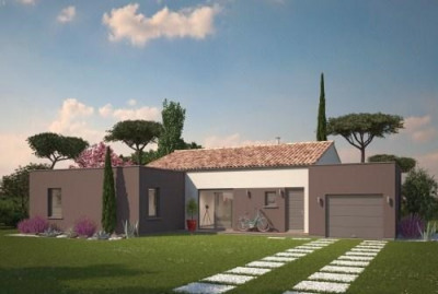 Maison  5 pièces + Terrain 890 m² Saint-Paul-Lès-Romans par MAISONS PHENIX St MARCEL LES VALENCE