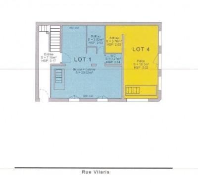 Vente bureau 38,95 m²