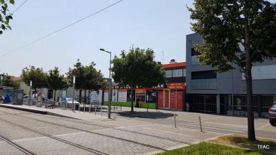 Immeuble 5 T3 + 5 parkings