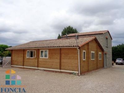 Maison en bois 76 m² + 2 plateaux de 45m² à finir
