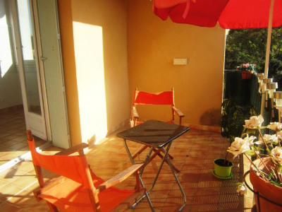 Appartement type 2 avec terrasse