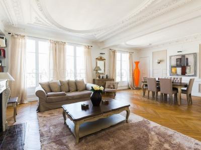 Double liv + 4 ch Paris 17 - 6 pièce (s) - 180 m²