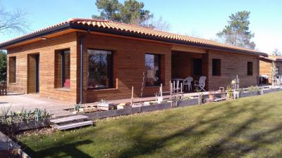 Biscarrosse lac, maison 5 pièces de 122 m²