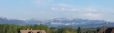 Terrain plat a 34min de Chambéry