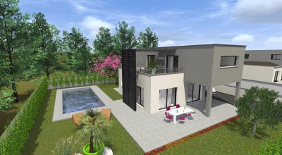 Lumineuse contemporaine d'architecte T4 112 m² garage à Bal Balma (31130)