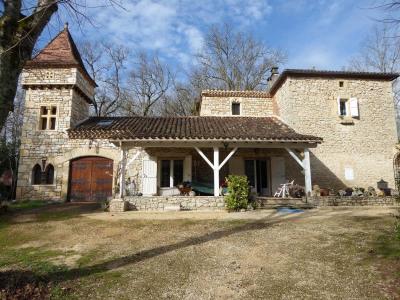Maison en pierre Lacapelle Cabanac