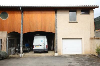 160 m² d'ancien atelier à aménager sur parcelle de 280 m²
