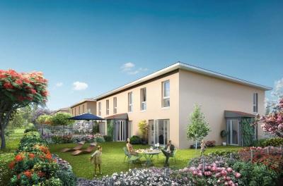 Maison/Appartement type 4 de 81m² avec jardin à MIONNAY (013