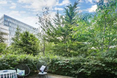 Rez-de-jardin 2 pièces 44.20m² + 20m² terrasse + parking