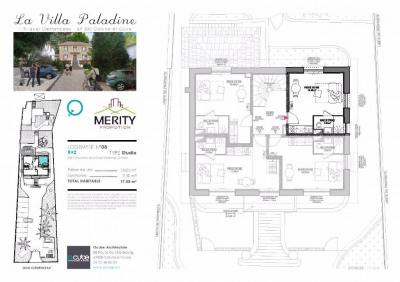 Appartement Caluire Et Cuire 1 pièce (s) 17 m²