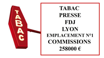 Fonds de commerce Tabac - Presse - Loto Paris 15ème