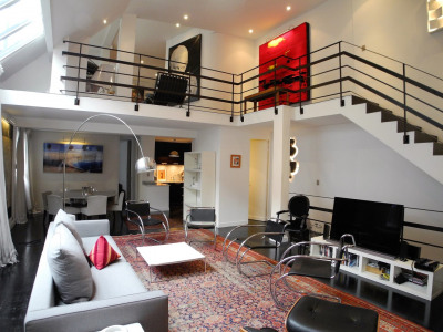 Beau duplex meublé