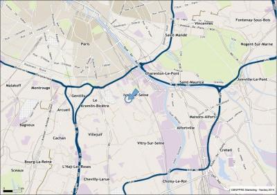 Location Local d'activités / Entrepôt Ivry-sur-Seine