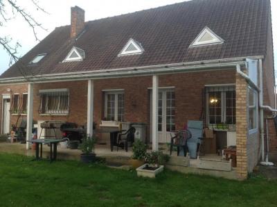 Maison individuelle * 6 pièces * 145 m² * 62500 ST MARTIN AU