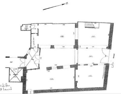 location bureau paris 10 me 75010 paris 10 me de 136 m ref 16040295l. Black Bedroom Furniture Sets. Home Design Ideas