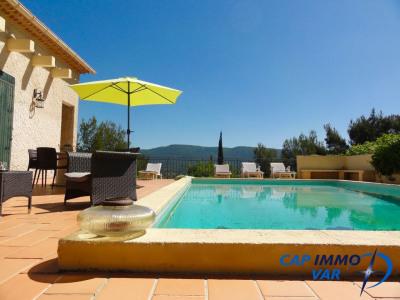 Villa type 9 avec piscine et vue