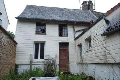Maison à rénover sur 345m² de terrain